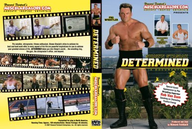 Shawn Stasiak Determined DVD Front And Back Covers