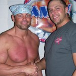 Shawn Stasiak With Lance Hoyt