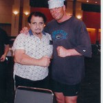 Shawn Stasiak With Skandor Akbar