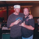 Shawn Stasiak With Johnny Mantell