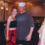 Shawn Stasiak With Francine