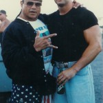 "Shawn Stasiak With ""Superfly"" Jimmy Snuka"